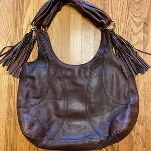 BCBG MaxAzria Brown Hobo Bag